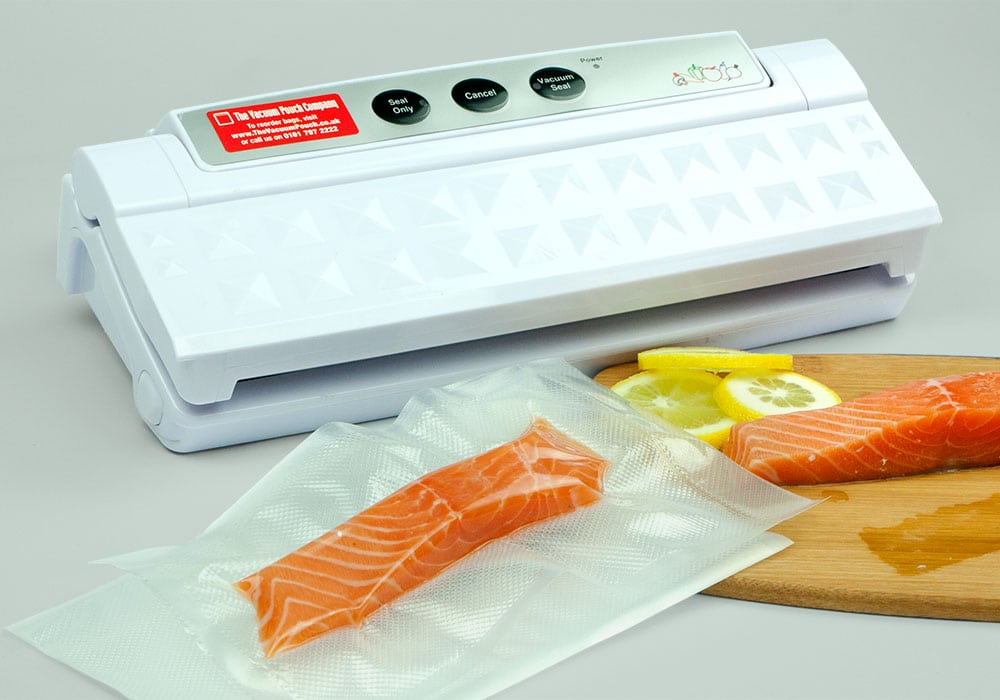 KitchenBoss Vacuum Sealer for Food Automatic Food Sealer Vacuum Sealing System Silver. The KitchenBoss Food Vacuum Sealer is an easy to use, very effective vacuum sealing machine for any kitchen. It is made from a powerful vacuum inside of a small, durable metal case.