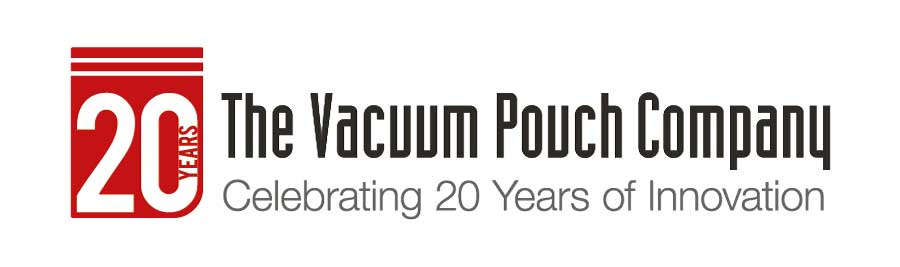 vacuum pouch 20 years logo