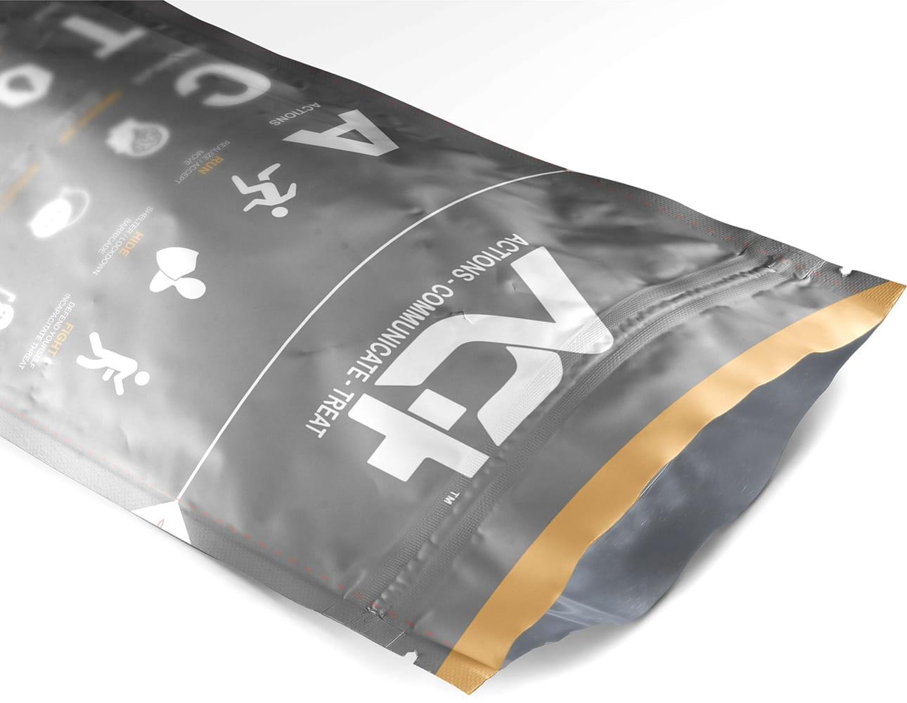 printed doy pack